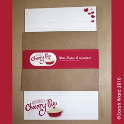 Cherry Pie Letter pack