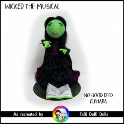 WICKED the musical - No Good Deed Elphaba
