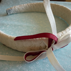 Burgundy Belle hairband