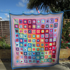 A Crochet Summer Harmony Blanket desined by Lucy Attic 24