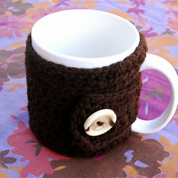 Warm and Toasty 100% Wool Mug Cosy - No Flower