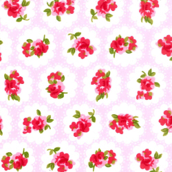 Rose & Hubble Cotton Poplin Province Rose in Pink