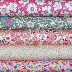 English Classics liberty pinks cotton poplin bundle x5