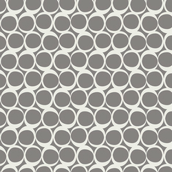 Round Elements pepper smoke by Art Gallery Fabrics