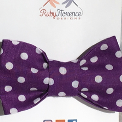 Beautiful Small fabric hair bow clip (S6)