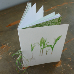 Notebook 'Lily of the Valley'.