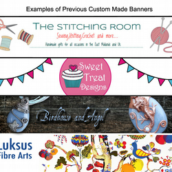 Custom Folksy Banner & Avatar. Personalised Shop Banners. Custom Made Graphics