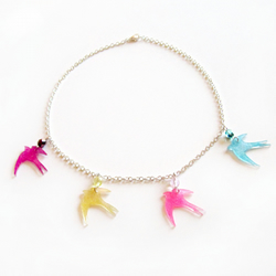 ONE DAY SALE Swallow necklace