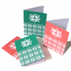 Christmas jumper pattern card pack