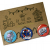 By the sea badge pack
