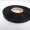 2 metres of 10mm Black Grosgrain Ribbon, Double Sided Ribbed