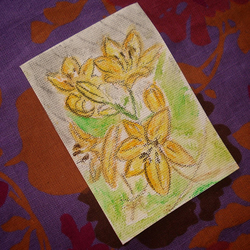 "ACEO ""Lillies"""