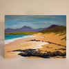 SCOTTISH BEACH SCENE, HEBRIDES-BLANK GREETINGS CARD