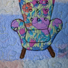 Liberty Chair Fabric Postcard