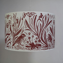 Sparrow lampshade