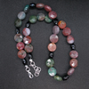 Fancy Jasper and Agate set