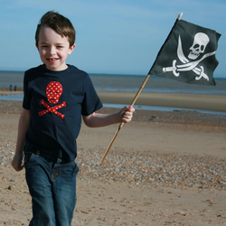 Pirate t-shirt (short-sleeved)