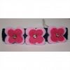 Pink flower barrette