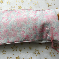"Pink and White Sleeping Bag to fit Barbie or similar 12"" Doll"