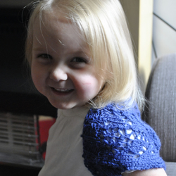 Girls Knitted Shrug Size 2-3