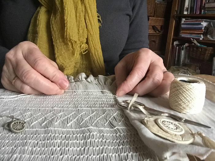 Rosalind Atkins - Smocking and Dorset Buttons