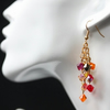 Cascade Earrings in Warm Colours