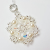 Custom item, for sale to Sarah West only: Snowflake Christmas Tree Decoration