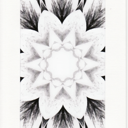 SALE - Kaleidoscope Image 10  - Greetings Card or Notelet -  Photo Print