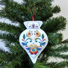 Christmas Ornament decoration, embroidered
