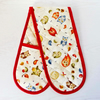 Owl oven Gloves. Quilted