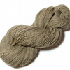 Undyed Pure Wool 4-ply Yarn – Natural Coloured Beige – 120g Hank