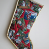 SALE - Santa's Album Christmas Stocking 1