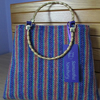 Small Rainbow 'Harris Tweed' Handbag