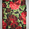 A5 Red Paeony Reusable Notebook Cover