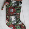 SALE - Festive Collage Christmas Stocking