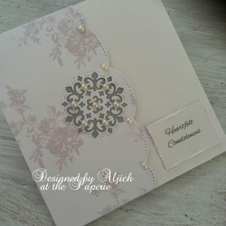 Handmade Sympathy Card, Condolence, Encouragement, Personalized