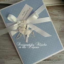 Christening Card, Handmade, Baby Boy, Baby Girl, Personalized, Baptism