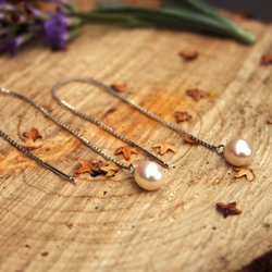 Waterfall Pearl Earrings