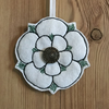 NHS fundraiser - Yorkshire Rose hanging decoration