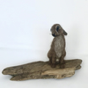 Small Needle Felted Hare