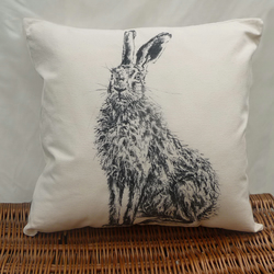Henry Hare Cushion cover