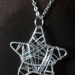 Really cute star shaped pendant necklace