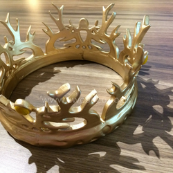 Joffrey Baratheon Game of Thrones crown - 3D print 1:1 scale Cosplay