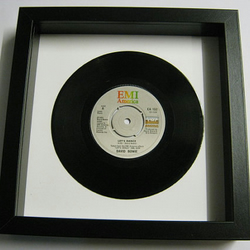 "David Bowie - ""Let's Dance"" Framed Record"