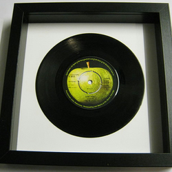 "The Beatles - ""Something"" Framed Record"