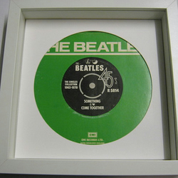 "The Beatles - ""Something"" Framed Record Sleeve"