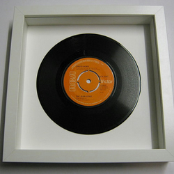 "David Bowie - ""The Jean Genie"" Framed Record"