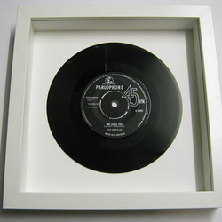 "The Beatles - ""She Loves You"" Framed Record"