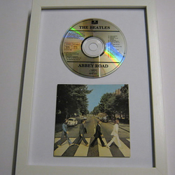 "The Beatles - ""Abbey Road"" Framed CD"