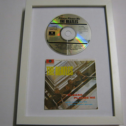 "The Beatles - ""Please Please Me"" Framed CD"